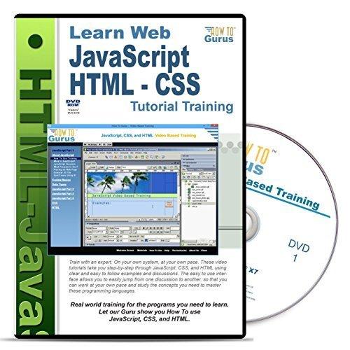 HTML JavaScript Tutorial Training Course product image