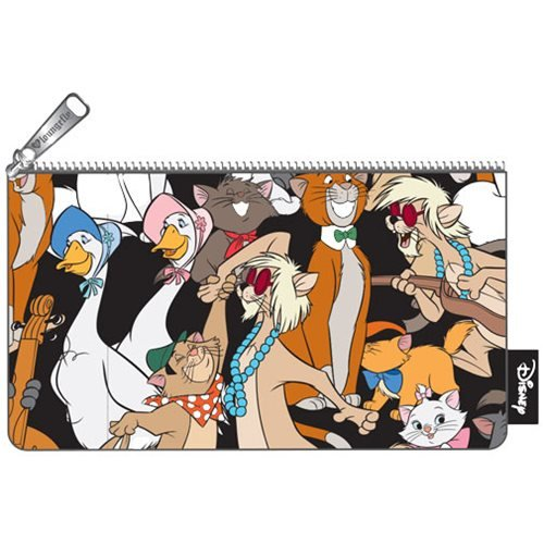 Loungefly Aristocats Character AOP Pencil -