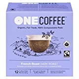 OneCoffee Organic Coffee 100% Compostable K Cup for Keurig...
