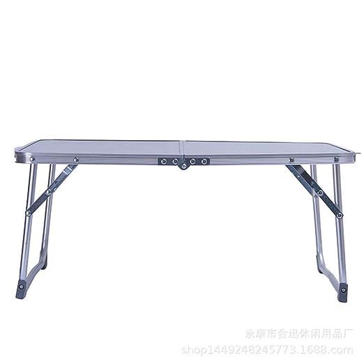 Zyangg-Home Mesa Plegable Inicio Aleación de Aluminio Plegable ...