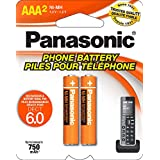 HHR-4DPA Panasonic AAA Ni-MH rechargeable batteries for DECT 6.0 Cordless Phones