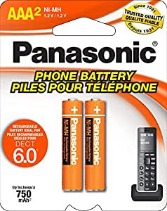 Amazon.com: Panasonic HHR4DPA Genuine AAA NiMH