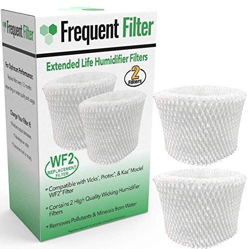 Frequent Filter - Vicks & Kaz Compatible Protec WF2 Humidifier Filter (Pack of 2 Filters) ()