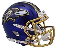 NFL Baltimore Ravens Alternate Blaze Speed Mini Helmet