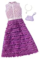 Barbie Fashions Complete Look - Purple Dress