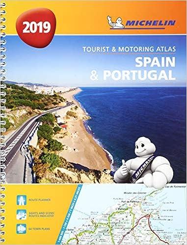 Spain & Portugal 2019 - Tourist and Motoring Atlas A4-Spira Michelin Road Atlases: Amazon.es: Michelin: Libros en idiomas extranjeros
