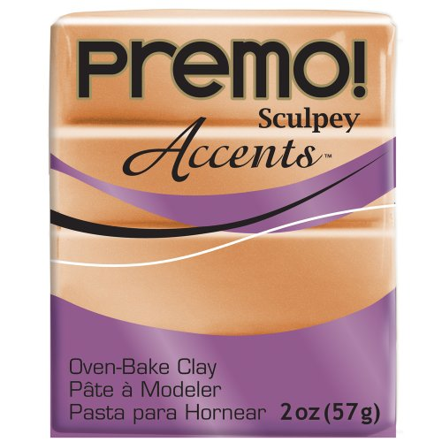 Premo Sculpey Polymer Clay 2 Ounces-Copper (PE02 5067) (Art Clay Copper Clay)
