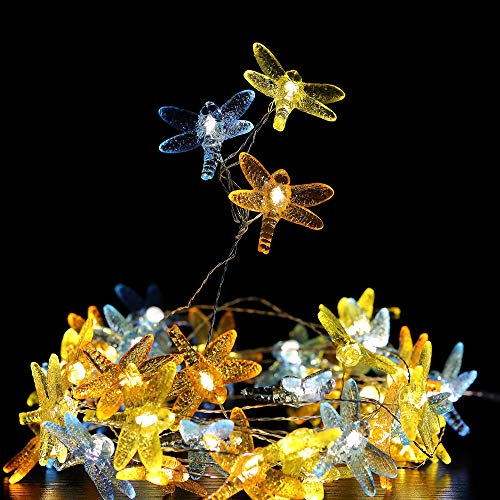 Dragonfly Outdoor String Lights in US - 4