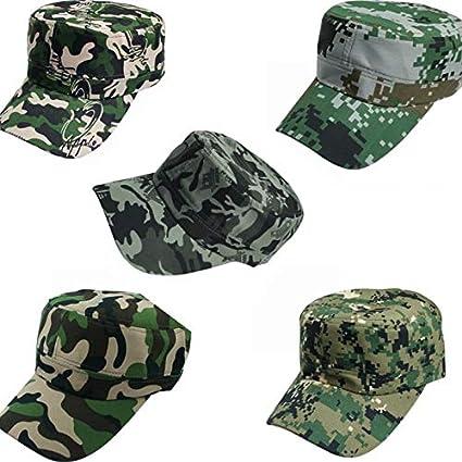OVINEE Sombrero de Camuflaje al Aire Libre Sombrero de Hip Hop Sombrero de béisbol  Gorra de e55eef6d01d