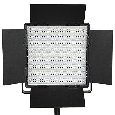 StudioFX Photo Video Studio Variable Color Temp 600 LED Bi Color Video Light Panel CN-600CSA by Studiofx