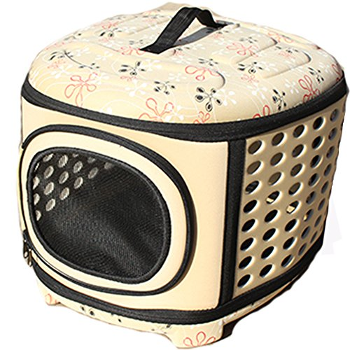 Resistente y Moderno Tansportin mascota,gato transporte,Gatito jaula portátil de EVA para viajar con los perros.
