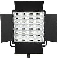 StudioFX Photo Video Studio Variable Color Temp 600 LED Bi Color Video Light Panel CN-600CSA