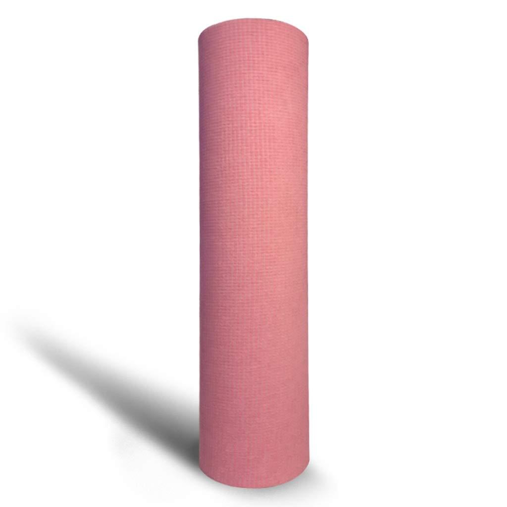 Rose ASJHK Tapis de Yoga épaississement élargissant Tapis de Fitness Homme débutant sous-Tapis d'impression Tapis de Yoga Maison Femme Tapis de Yoga (Couleur   vert, Taille   9mm) 7mm