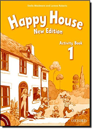 Happy House 1: Activity Book and MultiROM Pack New Edition (Happy Second Edition) - 9780194730648