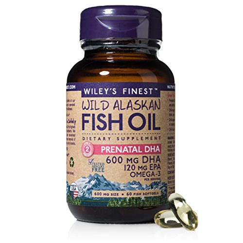 Wileys Finest, Prenatal Dha, 60 Count (Best Dha Supplement For Pregnancy)