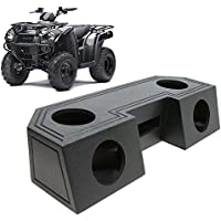Universal ATV UTV Offroad Vehicle Quad 6 1/2 Speaker Box & Radio Mount - Rhino Coated