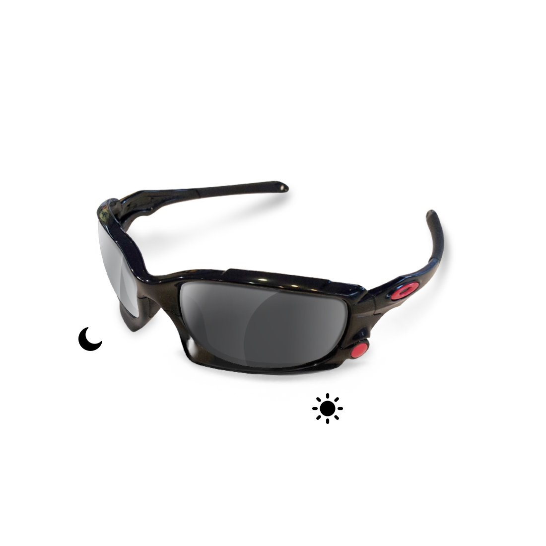 sunglasses restorer Premium Lentes Fotocromáticas Grises de Recambio para Oakley Split Jacket: Amazon.es: Ropa y accesorios