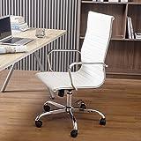 DingFSDong High Back Office Chair Home Desk Chair
