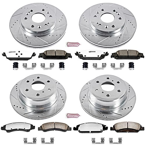 (Power Stop K6560-36 Z36 Truck & Tow Front and Rear Brake Kit)