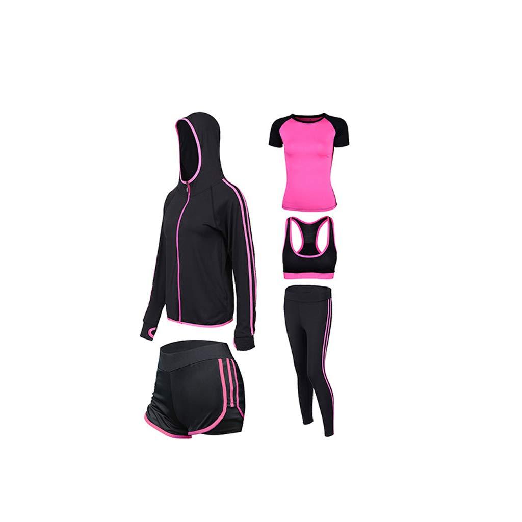 Lilongjiao Fitnessstudio Sport Yoga Anzüge Laufendes Training für Frauen Sportswear Sets Fitness Wear Yoga Wear Westen Workouts Sportswear (fünf Sätze)