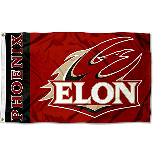 (College Flags and Banners Co. Elon Phoenix Flag)