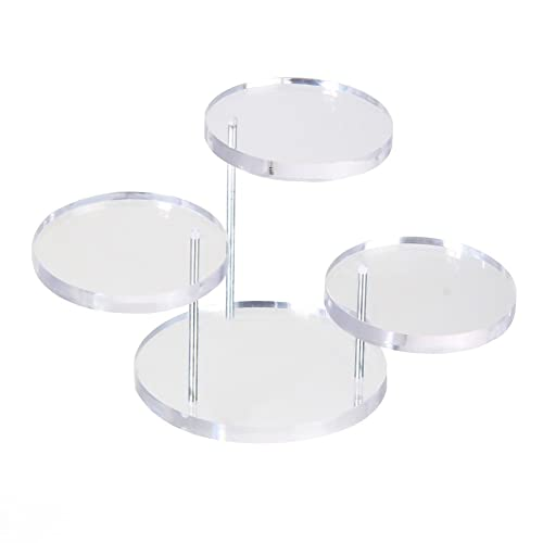 Acrylic Jewelry Earring Ring Display Holder Rack for Shop or Dressing Table Organising