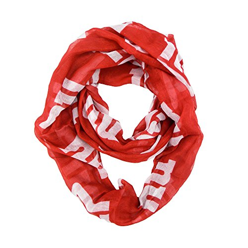 NFL New York Giants Sheer Infinity Scarf, One Size, Red (Girls New York Giants Shirt compare prices)