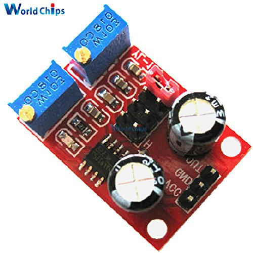 2Pcs NE555 Pulse Generator Frequency Duty Cycle Adjustable Module Square/Rectangular Wave Stepping Motor Driver