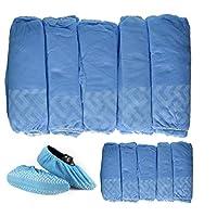 BESTeck Non-Slip Disposable Polypropylene Shoe Covers