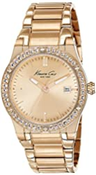 Kenneth Cole New York Women's 10022786 Classic Analog Display Japanese Quartz Rose Gold Watch