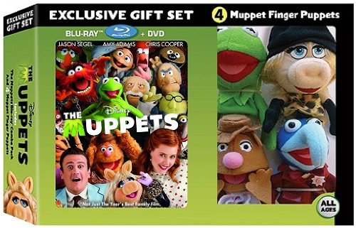 The Muppets Gift Set (Includes The Muppets Blu-Ray Combo Pack and 4 Muppet Finger Puppets)