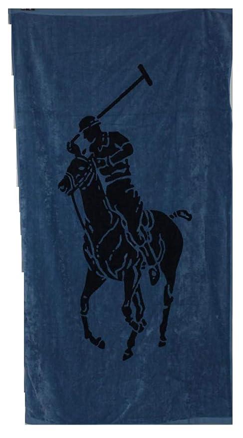 Ralph Lauren - Toalla de Playa (tamaño XL), Color Azul, algodón ...