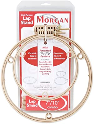 Morgan Products 10// 14-inch Lap Stand Combo Hoops 10 14