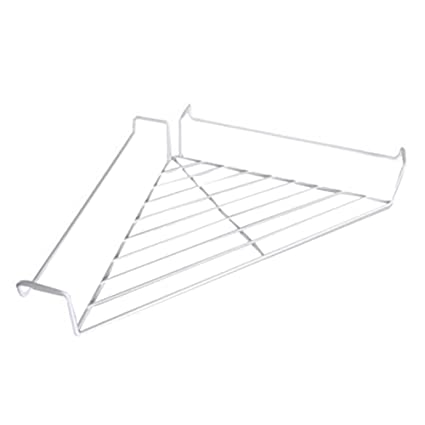 Office cubicle hanging shelves Accessories Amazoncom Vipe Metal Hanging Office Cubicle Corner Shelf Floating Cubicle Wall Organizer Display Rack white Office Products Amazoncom Amazoncom Vipe Metal Hanging Office Cubicle Corner Shelf Floating