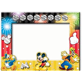 Amazon.com - Disney Mickey Mouse Donald Goofy Memories Picture Frame ...