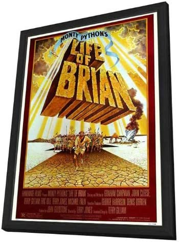 Monty Python/'s Life of Brian 1979 Stretched Canvas Art Movie Poster Film Print
