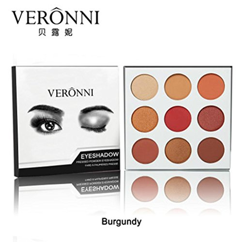 Price comparison product image Clearance Colorful Eyeshadow, Keepfit Matte Long Lasting Eye Shadow Press Powder Makeup Cosmetics for Girls Party (B)