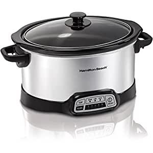 Programmable 5 Quart Slow Cooker (33453)