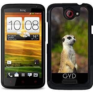 Funda para HTC one x - Meerkat by WonderfulDreamPicture