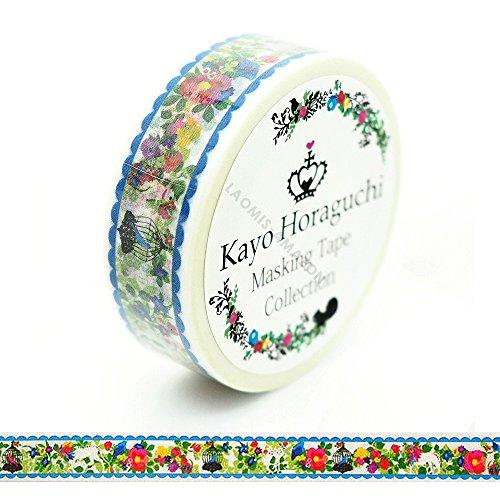 - Kayo Horaguchi Japanese Washi Masking Paper Tape / Bird Cage [ HKZMK-12]
