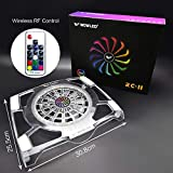WFPOWER Cooling Fan Pad with RGB LED
