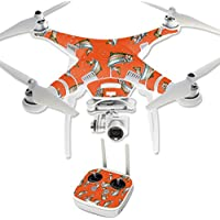 Skin For DJI Phantom 3 Professional – Trout Collage | MightySkins Protective, Durable, and Unique Vinyl Decal wrap cover | Easy To Apply, Remove, and Change Styles | Made in the USA