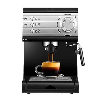 WY-coffee maker Máquina de café semiautomática de vaporización doméstica Tipo Vapor, 850W,