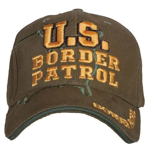 Border Patrol Gear (Fox Outdoor 78-792 Embroidered Ball Cap Border patrol/ green)