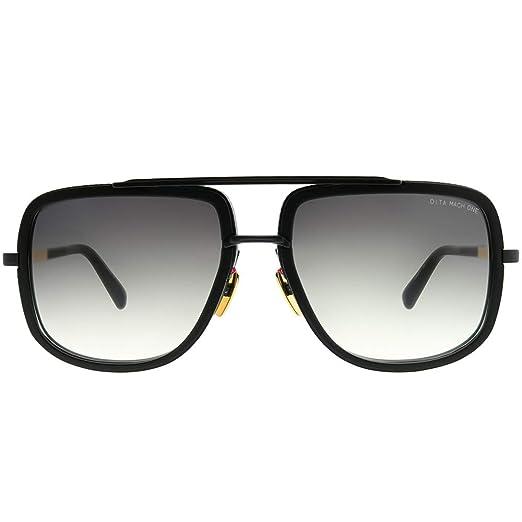 240a18539fb DITA Luxury Eyewear Sunglasses Mach-one DRX-2030-G-BLK-18K-59 w  Black   Amazon.co.uk  Clothing