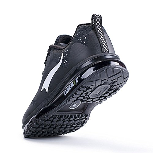 Casual Sports Walking Cushion and Air Sneakers Men Black New Wave ONEMIX Women Running for Shoes wEPn1F1q
