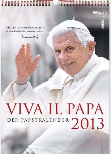 Viva il Papa 2013: Der Papstkalender