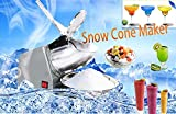 Happy Children's Day,Vinmax Electric Ice Crusher Shaver Commercial Machine Snow Cone Maker 60KGS/H//300w/132lbs/h (Ice Shaver Crusher Machine)(FREE US SHIPPING)