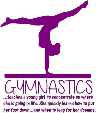 Amazon Teaching Gymnastics Quote