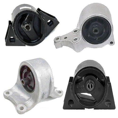 K0099 Fits 1993-1999 NISSAN ALTIMA 2.4L ENGINE & TRANS MOUNT SET for AUTO TRANS 4 PCS : A6345, A6342, A6346, A6343 Autopartsman Corporation